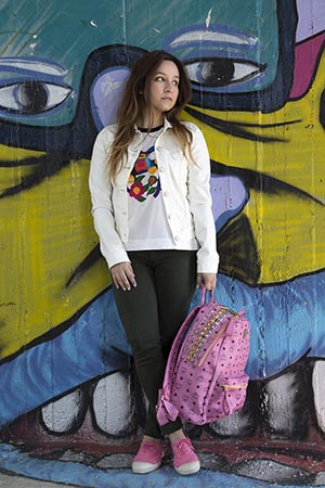 mcm pink bag