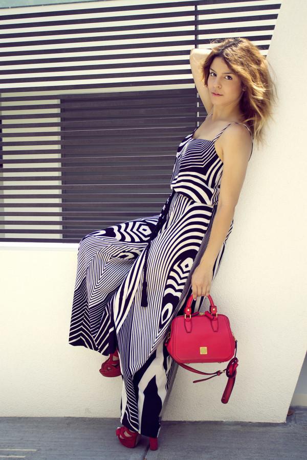 bsb dress red mcm
