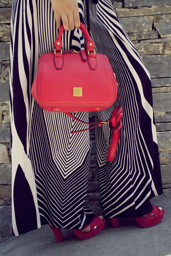 red bag mcm